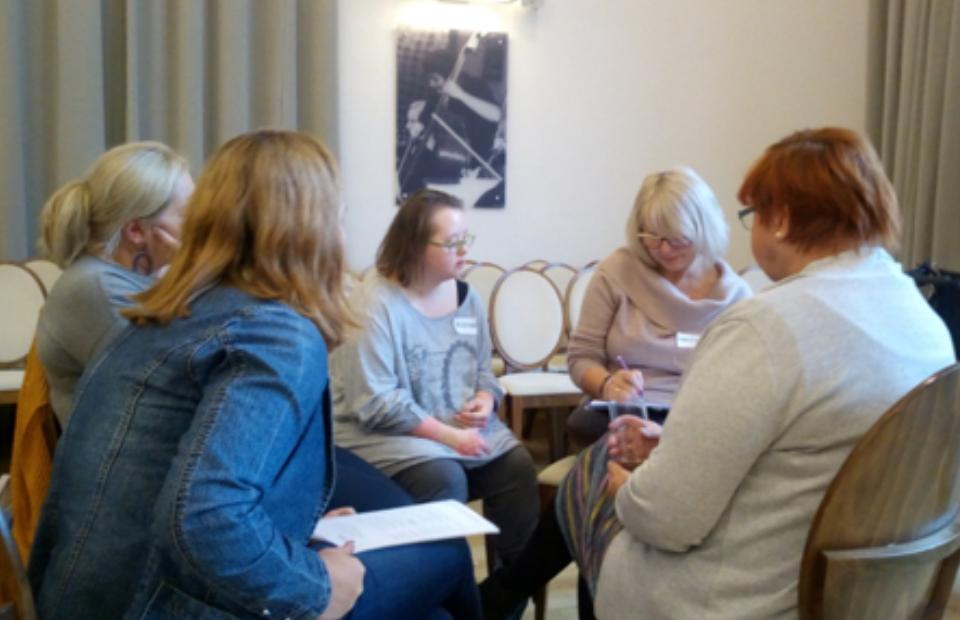 pierwsze seminarium lokalne w Elblągu otwierające projekt Bezpieczna przyszłość osób z Niepełnosprawnością Intelektualną