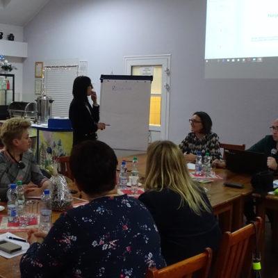 Nidzica szkolenia lokalne Mapowania środowiska lokalnego i tworzenia koalicji organizowane w ramach projektu Bezpieczna przyszłość