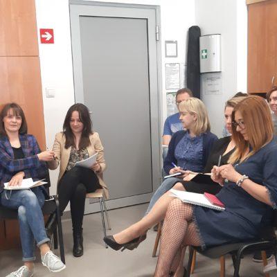 Spotkanie z pracownikami socjalnymi w Jarosławiu