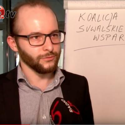 Adam Zawisny specjaliści kręgów wsparcia w tv Suwałki