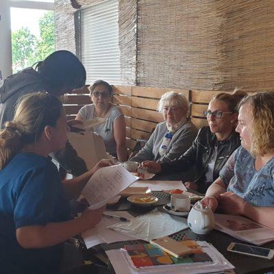 spotkanie na kawie w Elblągu z kręgami wsparcia