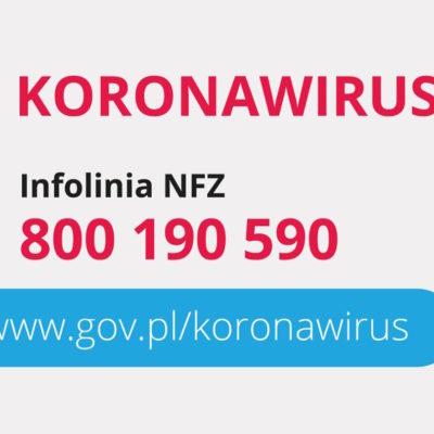 infolinia NFZ koronawirus