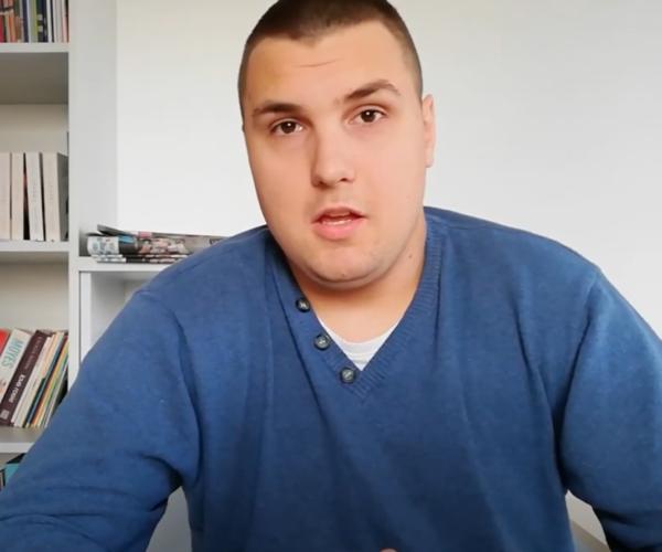 Tomek członek kręgów z Goleniowa